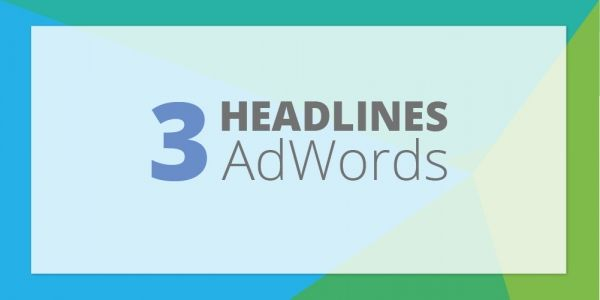 Google Testing 3 Headlines in AdWords