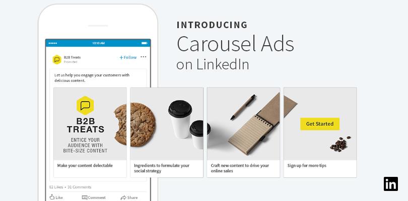 LinkedIn Carousel Ads - Hyperbrand