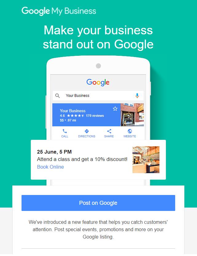 Google Posts - Hyperbrand